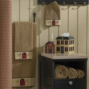 Country Bath Towels