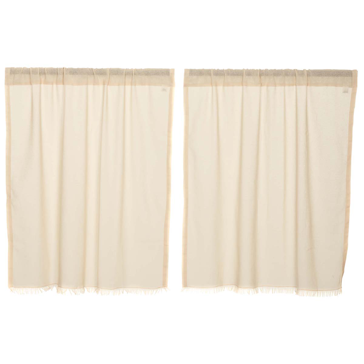 Country Tier Curtains Tobacco Cloth 72 Quot X 36 Quot