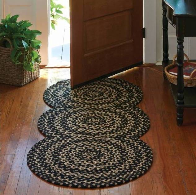 Country Rugs Kendrick Braided Rug Runner 30 X 72