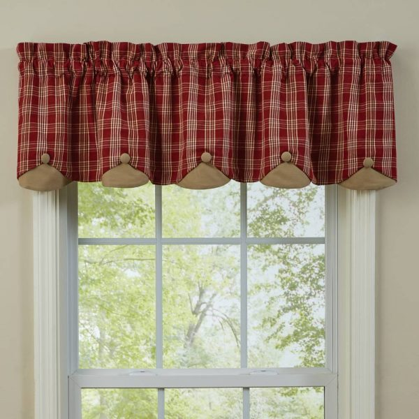 Barnside Lined Scalloped Valance