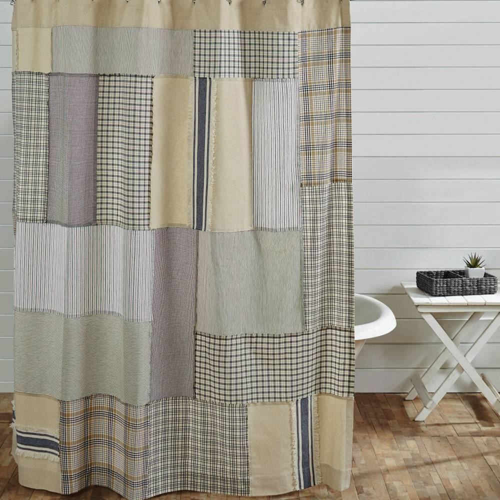 Country Shower Curtains Mill Creek Patch 72 Quot X 72 Quot