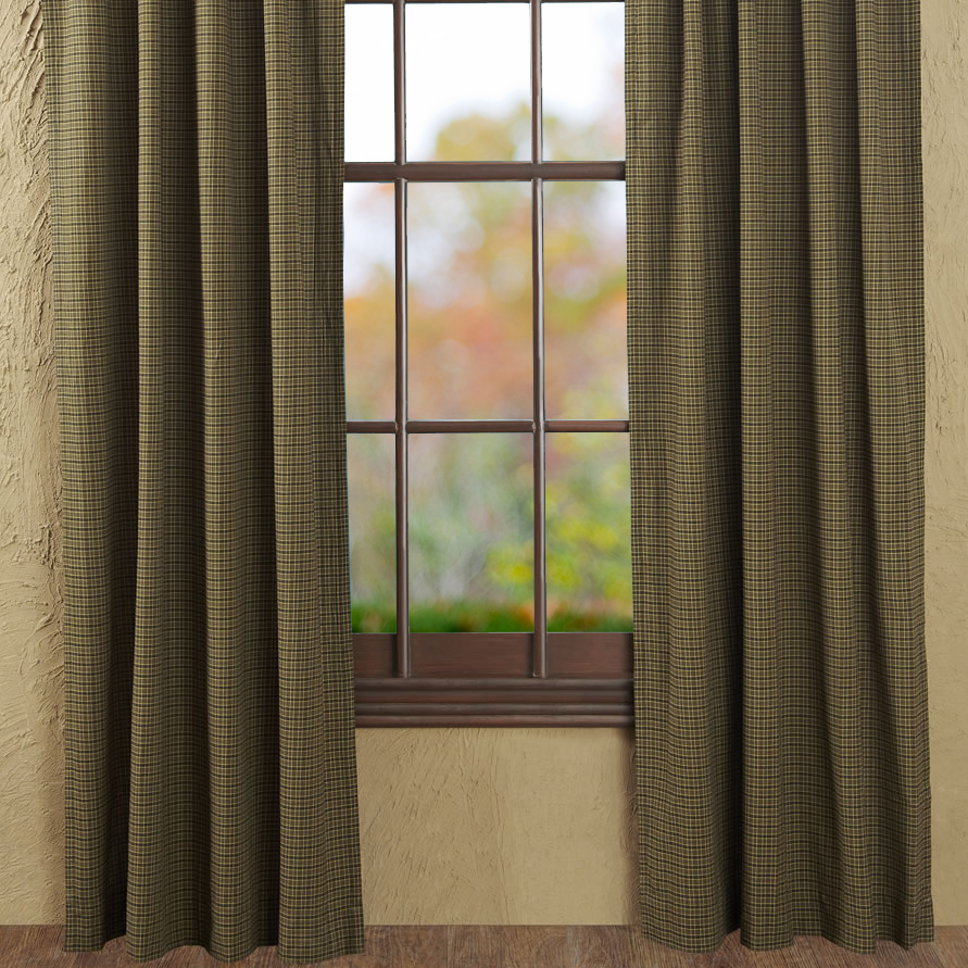 Cabin style curtains 2